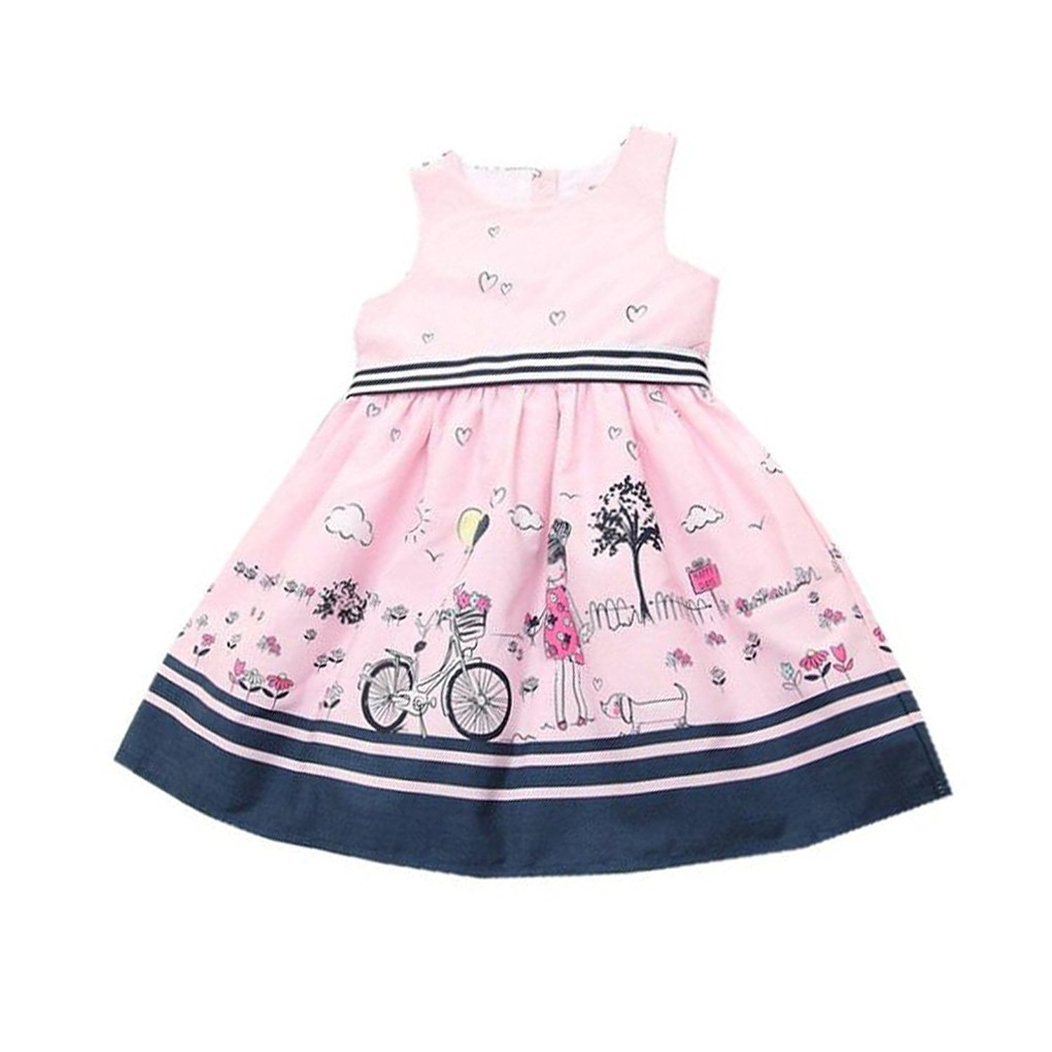 c8b17621e9e3 Fulltime(TM) 2-7 Years New Kids Girls Princess Dresses Wedding Party ...