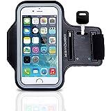 DBPOWER Armband de Téléphone Brassard de Sport Anti-Sueur avec Porte-clés pour iPhone 4/4s/5/5c/5s Galaxy S3