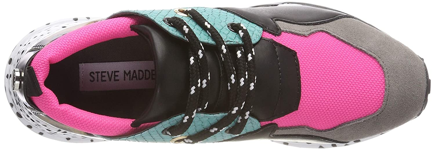 9322ff9b79b Steve Madden Women's Cliff Sneaker Trainers: Amazon.co.uk: Shoes & Bags