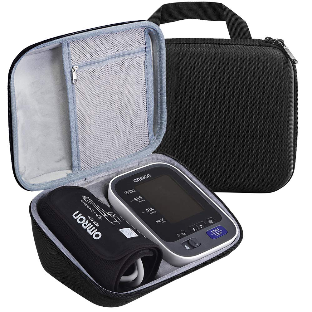 Case Compatible with 10 Series BP785N BP786 BP786N Wireless Upper Arm Blood Pressure Monitor, Fits Charger Cuff Black