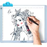 """LED Light Pad by Craftymint - Large Ultra Thin 19"""" Light Up Tracing Tablet - Portable USB Light Box for Diamond Painting…"""