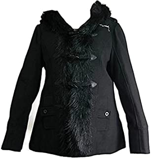 Amazon.com  Baby Phat Quilted Winter Coat in black (Small) aee7094c0