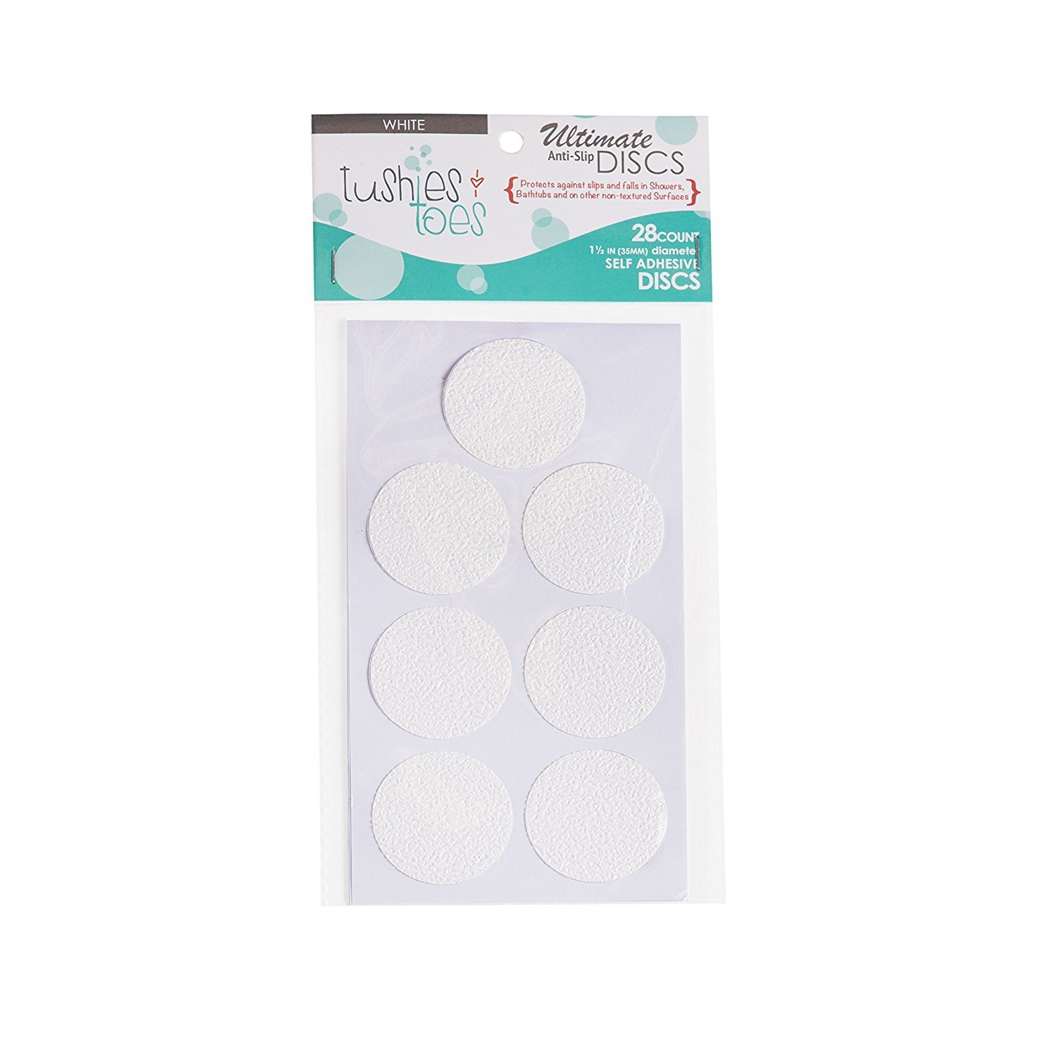 Anti-slip Discs - Non Slip Stickers for Tubs and Showers (White) SlipDoctors COMINHKPR73739