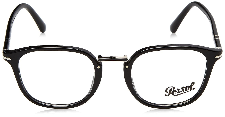 ce2f4886688c18 Persol Brillen SARTORIA PO 3187V BLACK Herrenbrillen  Amazon.de  Bekleidung
