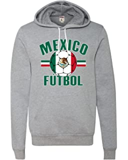 Go All Out Adult Mexico Futbol Mexico Soccer Football Deluxe Super Soft  Sweatshirt Hoodie 9db1a7e90