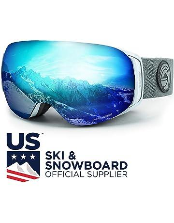 e2b2cfa40d7 WildHorn Outfitters Roca Ski Goggles   Snowboard Goggles- Premium Snow  Goggles for Men