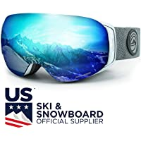 WildHorn Outfitters Unisex Roca Ski & Snowboard Goggles