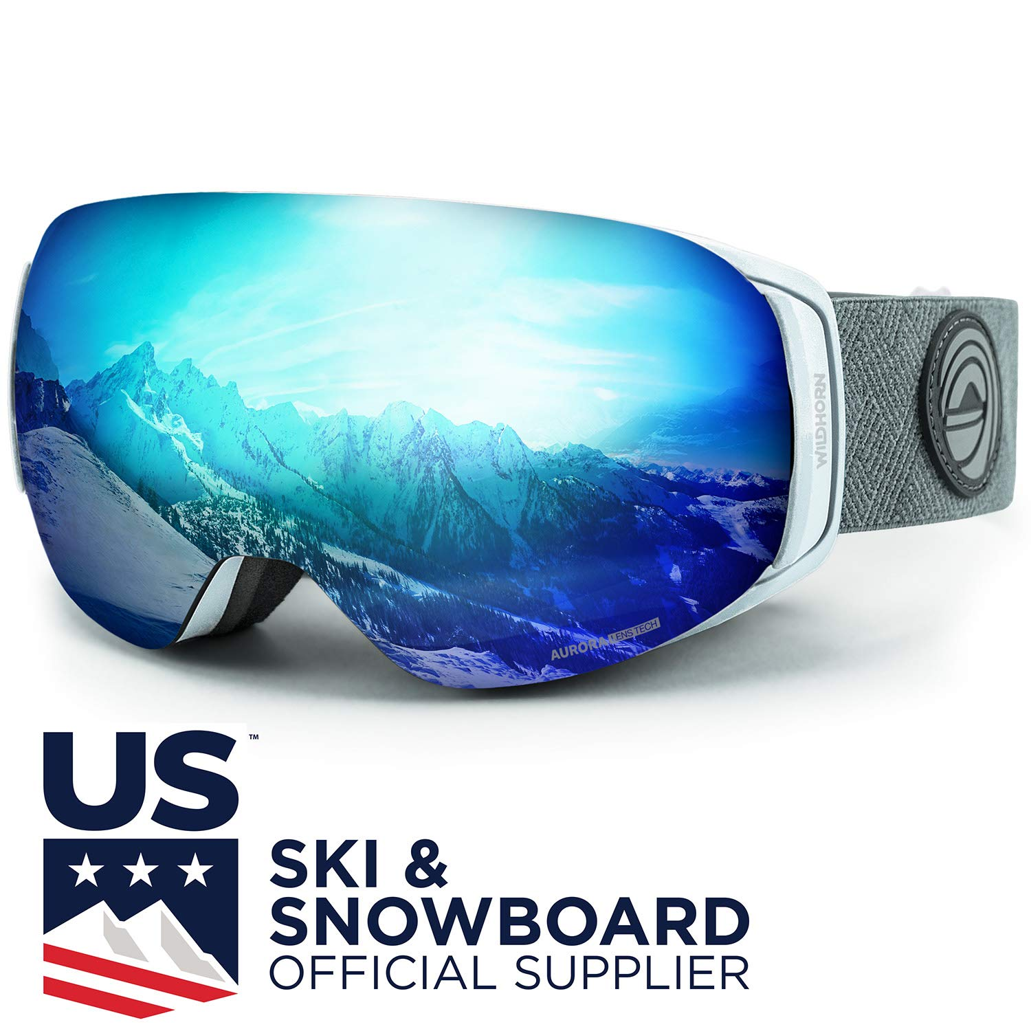 d87a22e999d WildHorn Outfitters Roca Ski Goggles   Snowboard Goggles- Premium Snow  Goggles for Men