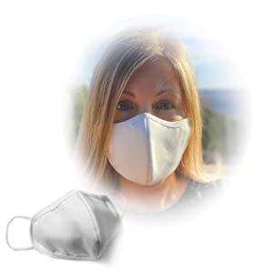 Best Facemask with Built-in Nano Filters - Soft Comfortable Cotton Polyester Unisex 4-Layer Protective Face Mask for Men Women Adult, Washable & Reusable. Water Resistant Dust Cover For Max Protection