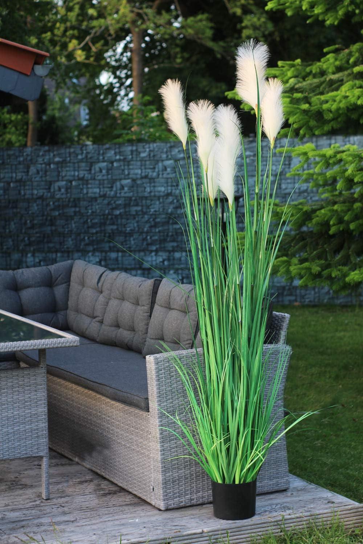 Arnusa Gramin/ées artificielles Herbe de Pampa 180 cm d/écoration Plante Artificielle
