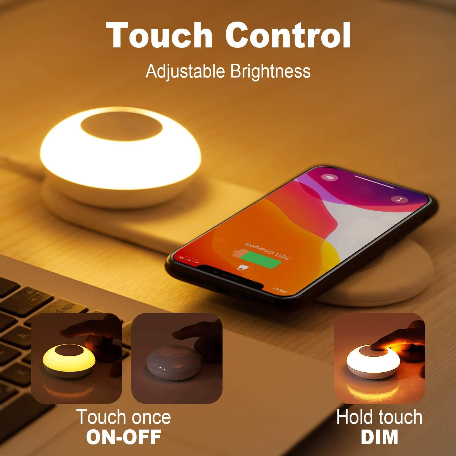 gaixample.org 7.5W for iPhone 11 Pro Max PREKIAR Dimmable ...