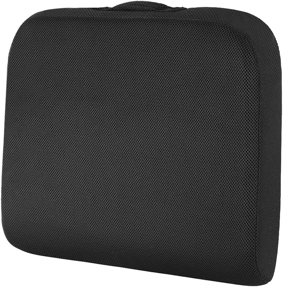 Seat Cushion for Office Chair, Wheelchair Seat Cushion Pad Memory Foam Extra Large Thick Chair Cushion for Truck Drivers Relieving Back Tailbone Pain by Shinnwa
