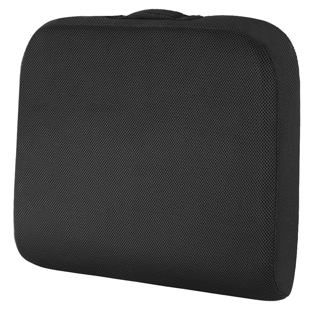 SHINNWA Seat Cushion for Office Chair, Wheelchair Seat Cushion Pad Memory Foam Extra Large Thick Chair Cushion for Truck Drivers Relieving Back Tailbone Pain (19 X 17 X 3 inches) by SHINNWA