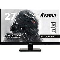 iiyama G-MASTER Black Hawk G2730HSU-B1 68,58 cm (27 Zoll) Gaming Monitor (VGA, HDMI, DisplayPort, USB 2.0, 1ms Reaktionszeit, FreeSync) schwarz