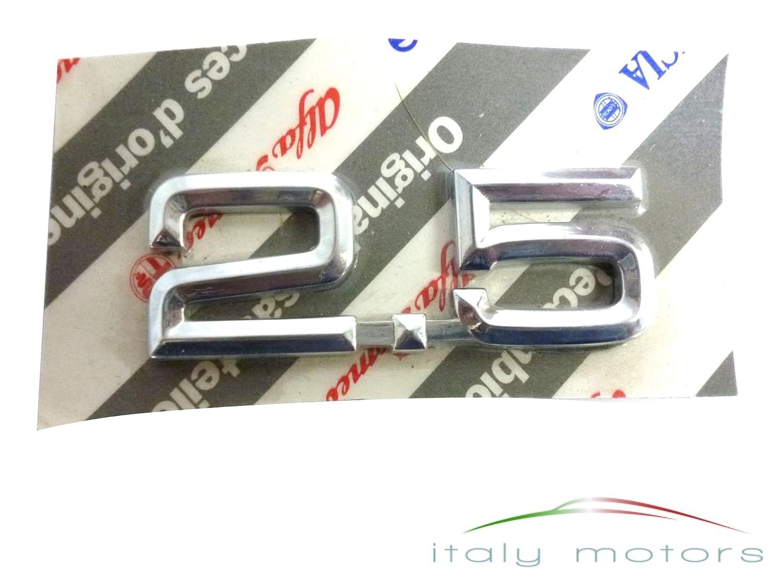 'Original Alfa Romeo 155 75 '2, 5 scritta modello segno emblema posteriore –  60532767 5scritta modello segno emblema posteriore-60532767 155 75