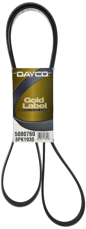 Dayco 5080760 Serpentine Belt