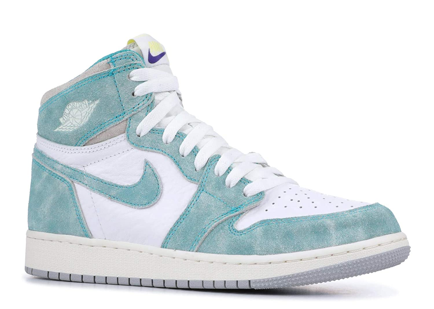 Amazon.com | AIR Jordan 1 Retro HIGH OG (GS) 'Turbo Green ...