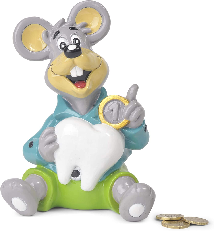 hucha infantil original del Ratoncito Pérez - hucha niña y niño , material de Poliresina,no se rompe,17cm. hucha billetes y monedas