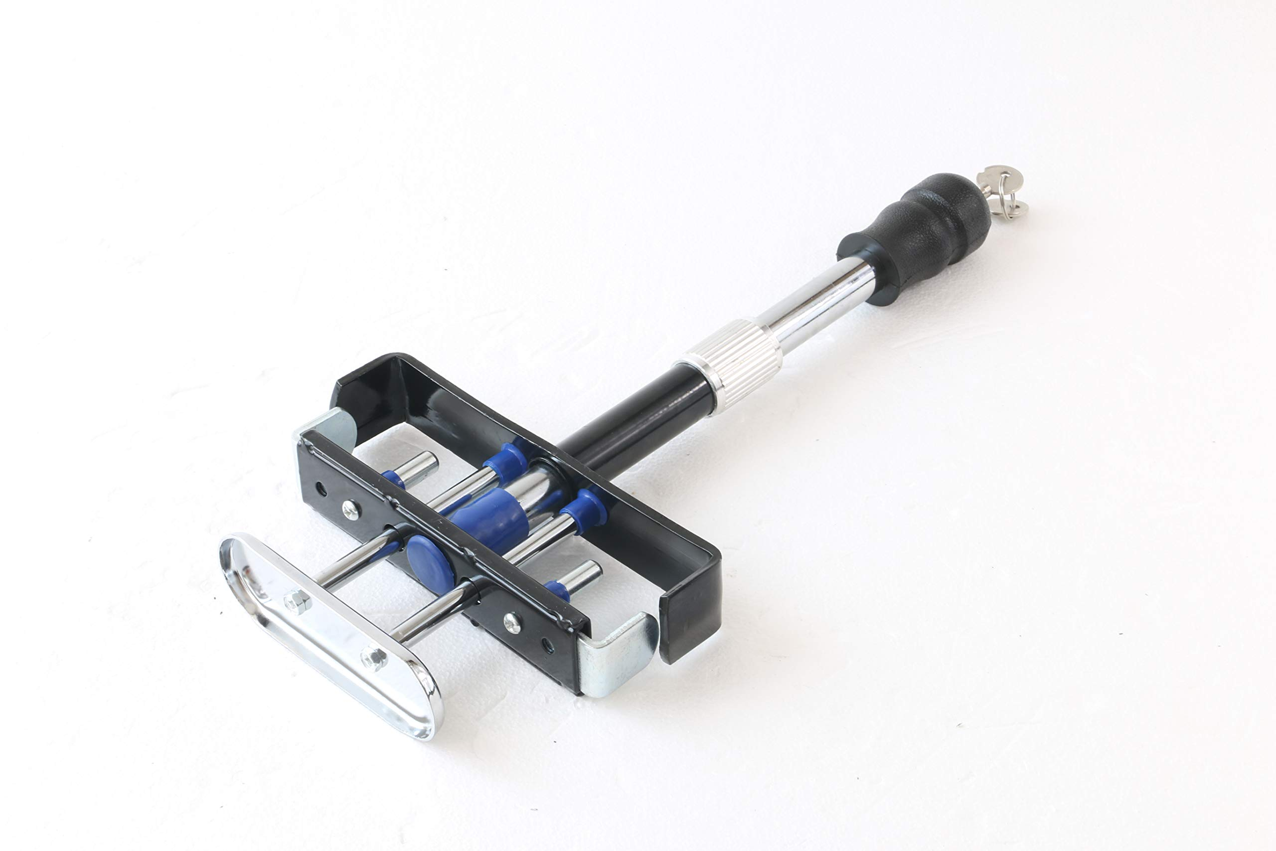 Motorhot New Adjustable Brake Clutch Pedal Clamp Lock High Security Vehicle Anti-Theft Device