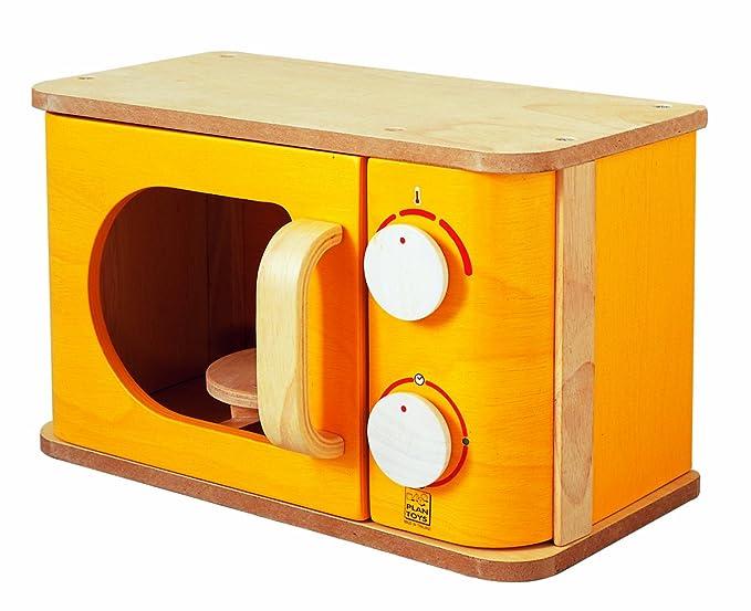 Amazon.es: PlanToys PT3422 - Microondas de Juguete: Juguetes y juegos