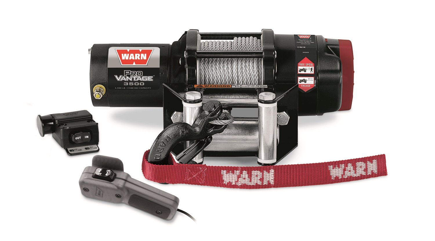WARN 90350 ProVantage 3500 Winch - 3500 lb. Capacity