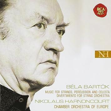 バルトーク:弦楽器、打楽器とチェレスタのための音楽&弦楽のためのディヴェルティメント