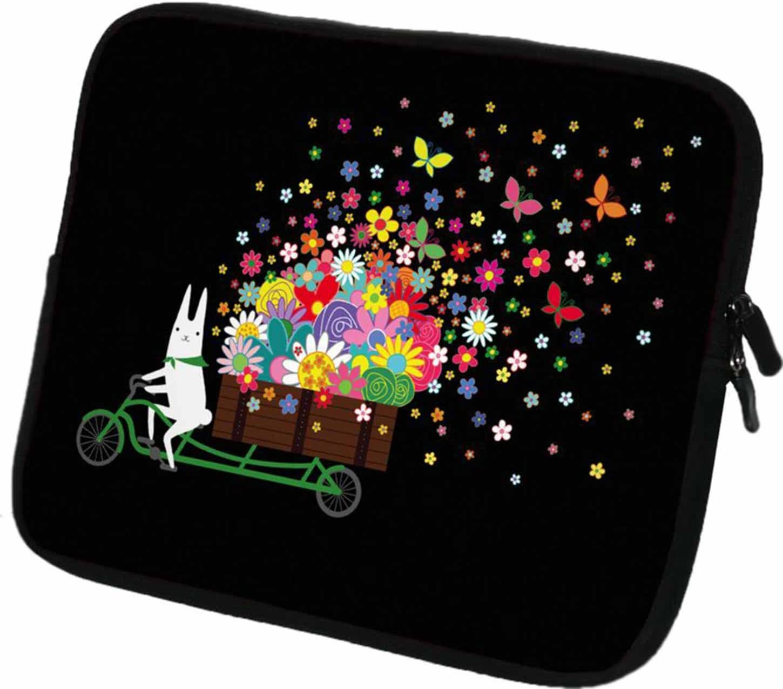 """Design f/ür Tablets mit Bildschirmgr/ö/ße ca #DoYourMobile/© 7Zoll Tasche//Schutzh/ülle f/ür Tablets//Tablet-PCs wasserdichtes Neopren mit Rei/ßverschluss in der Gr/ö/ße 21,3 x B 15,9cm 6,9-7,4/"""" 228"""