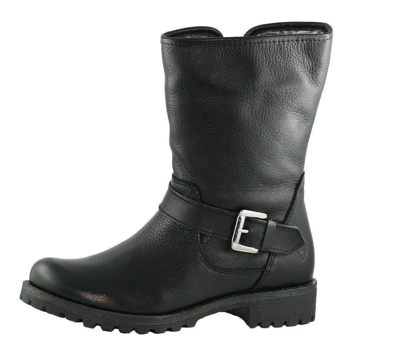 Tamaris Damen Stiefel 12699139 Schwarz 001 Winter Leder