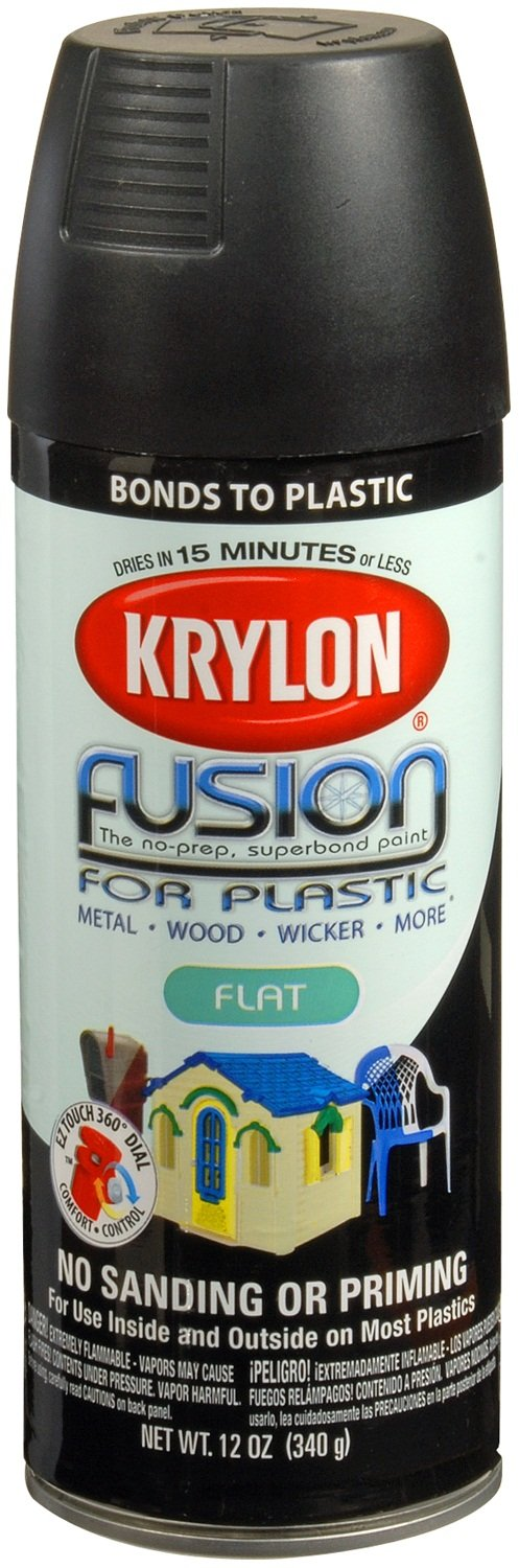 krylon k02519001 k02519000 fusion for plastic aerosol spray paint