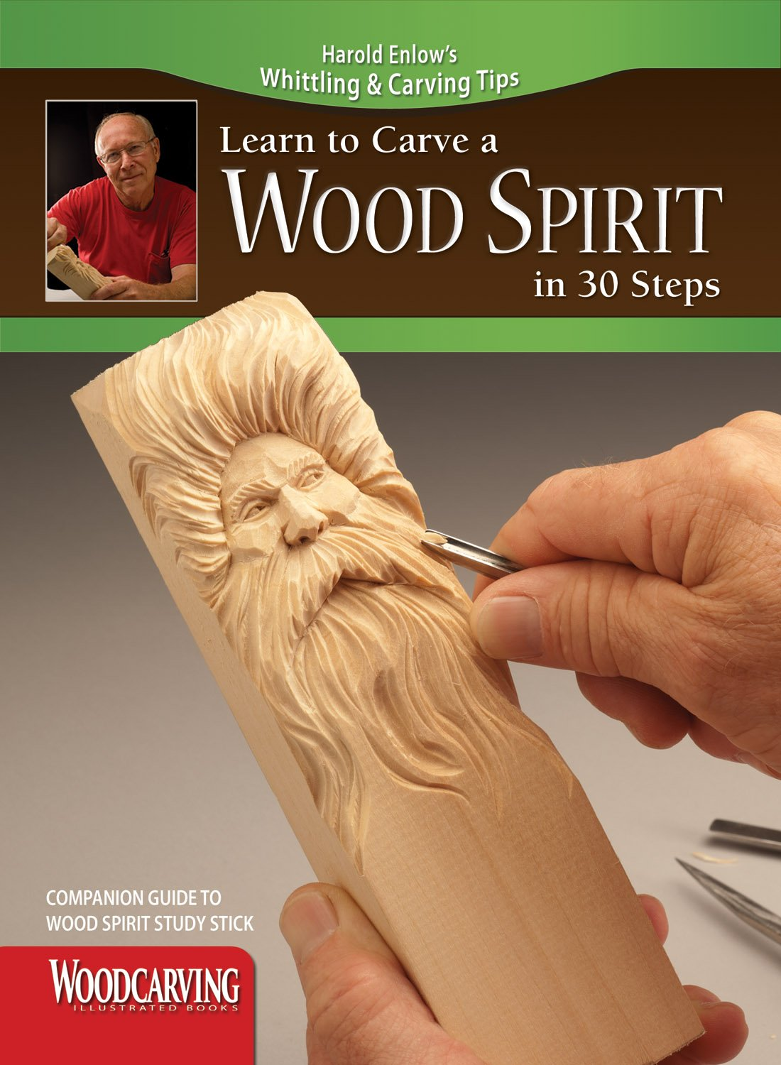 Learn to Carve a Wood Spirit in 30 Steps