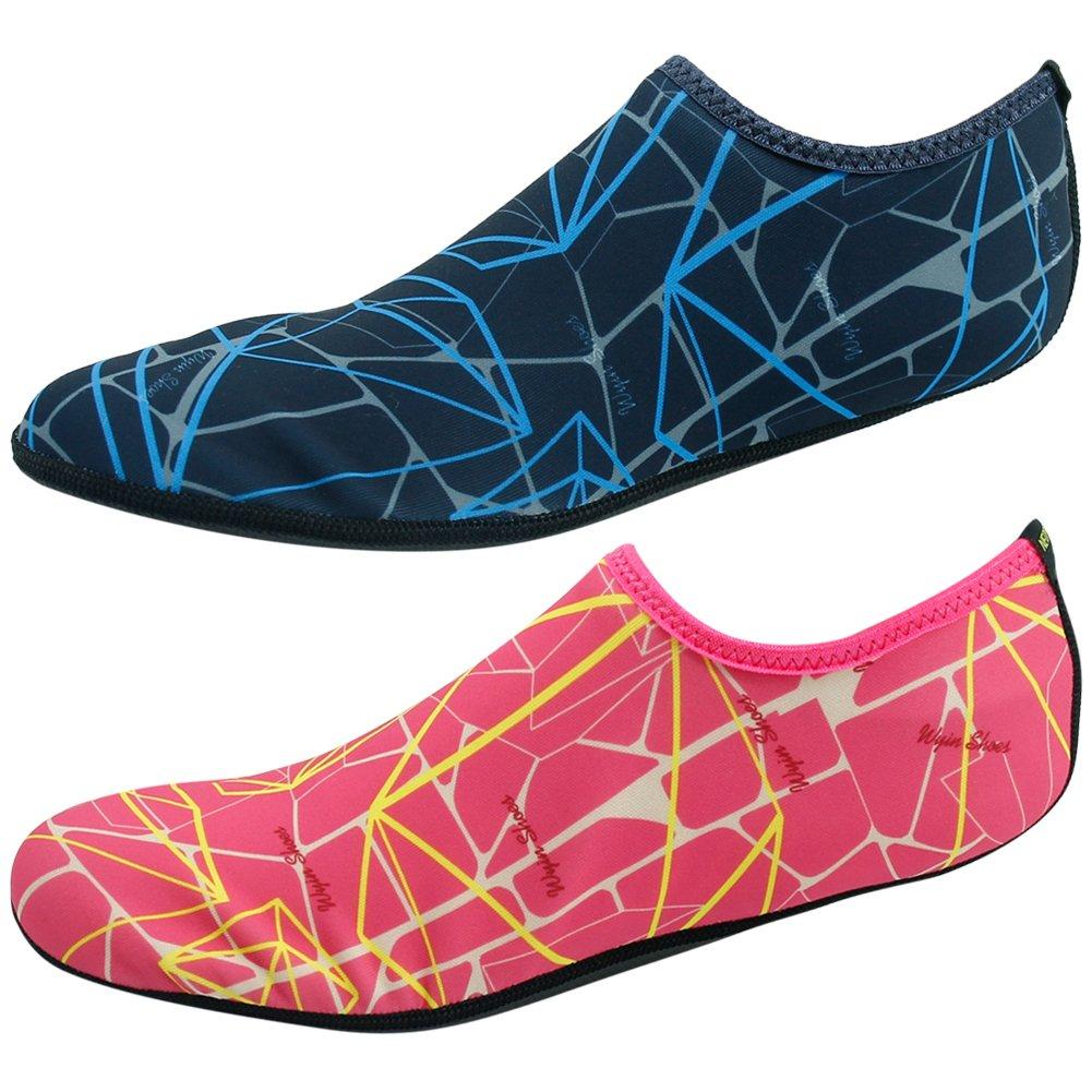 Gohom Rubbers for Shoes Sand Socks Women Men Flexible Swim Shoe Beach Aqua Surf Pool Yoga Exercise