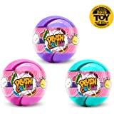Plush Crush - Puzzle Crush Ball, Surprise Collectible Character, Gift - 3-Pack (Cute Series)