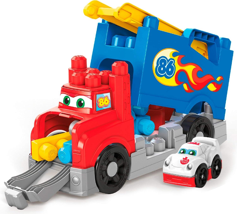 Mega Bloks FVJ01 Build & Race Rig 12E Building Set Multicolor Fisher Price / Mattel Canada
