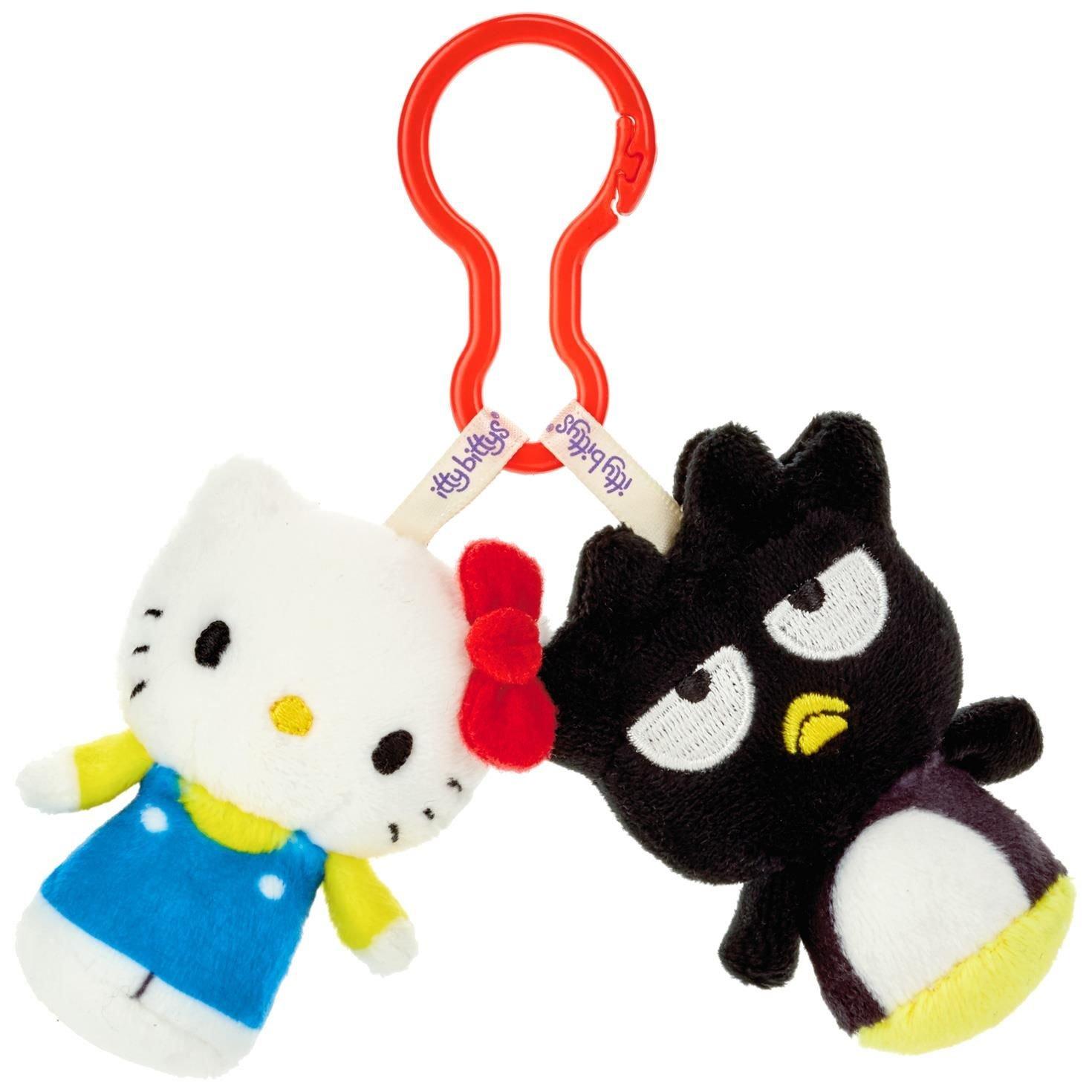 Sanrio Hello Kitty and Badtz Maru itty bittys Clippys Stuffed Animals Itty Bittys Hallmark