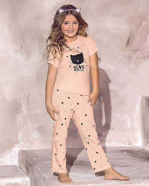 LEONISA Conjunto Pijama para niñas