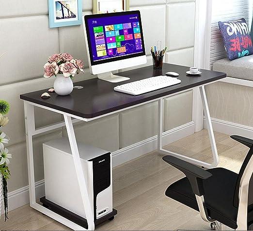 GZH Home Mesa de Comedor para Ordenador, Escritorio, Color Blanco ...