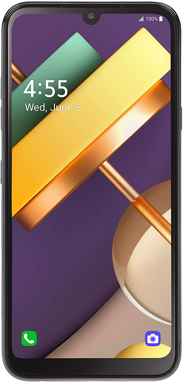 TracFone LG Premier Pro Plus 4G LTE Prepaid Smartphone (Locked) - Black - 32GB - Sim Card Included - CDMA