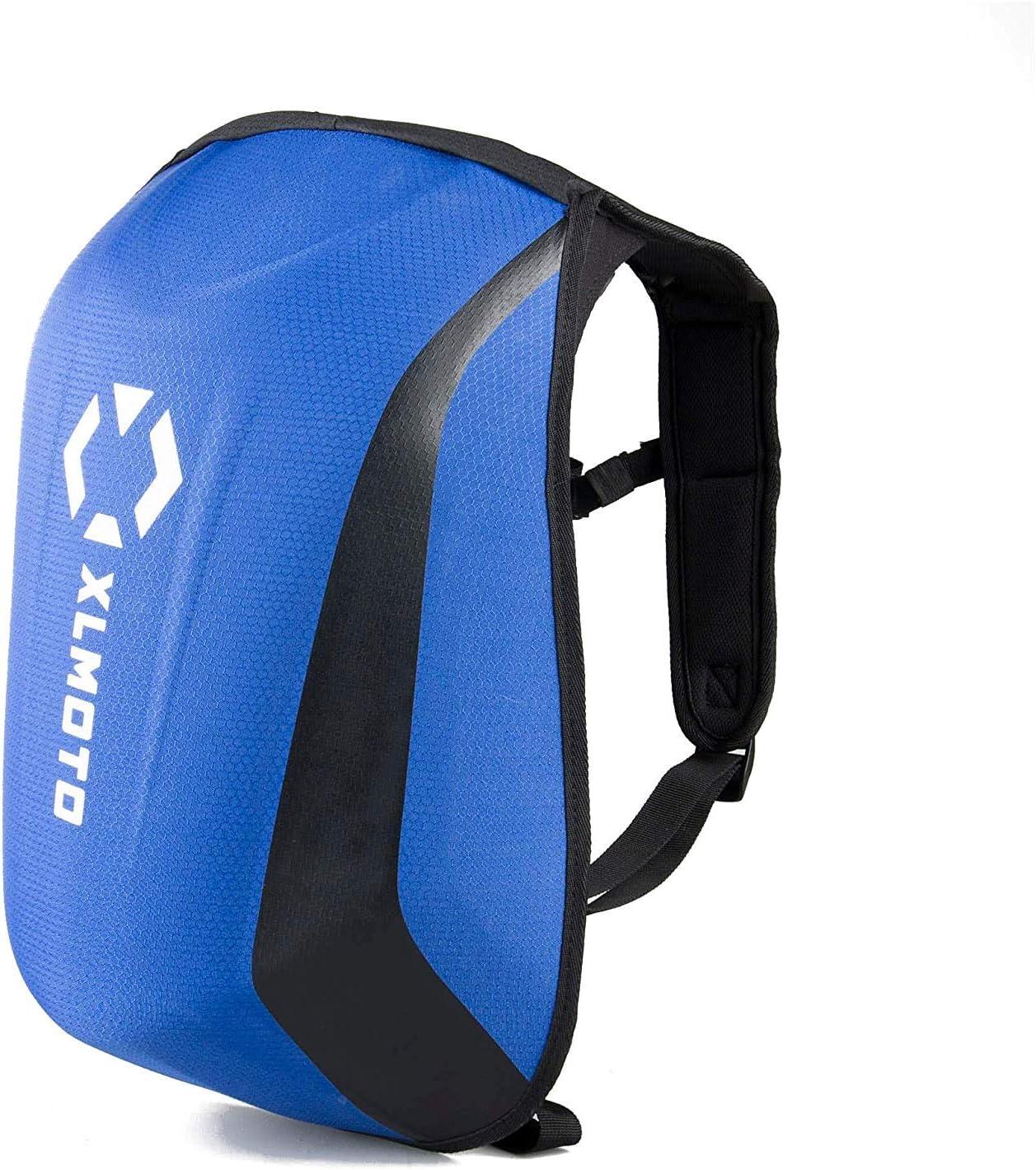 Xlmoto 24l Blue Waterproof Motorcycle Backpack Auto