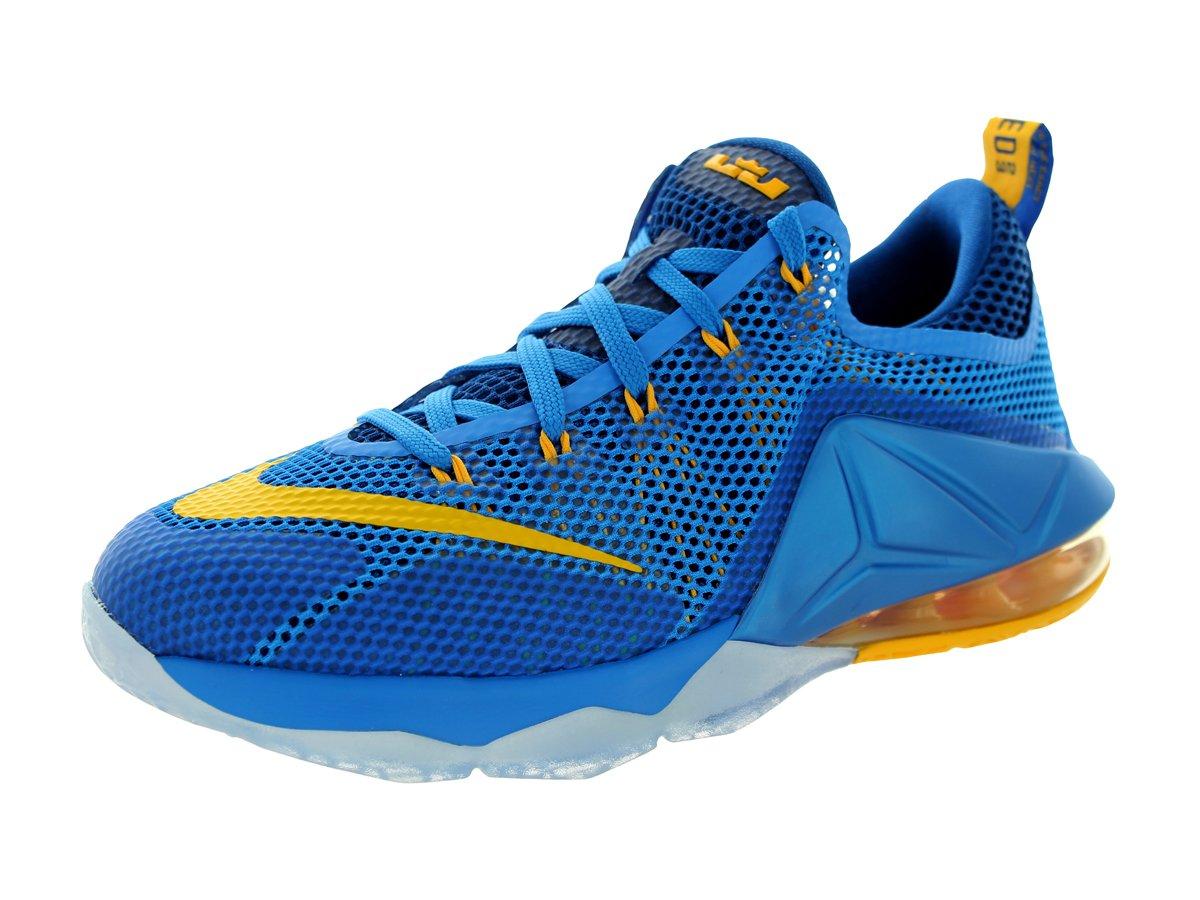 sports shoes 2950a 3e1b5 Galleon - Nike Kids Lebron XII Low (GS) Photo Blue Unvrsty Gold Gym Bl Basketball  Shoe 5.5 Kids US