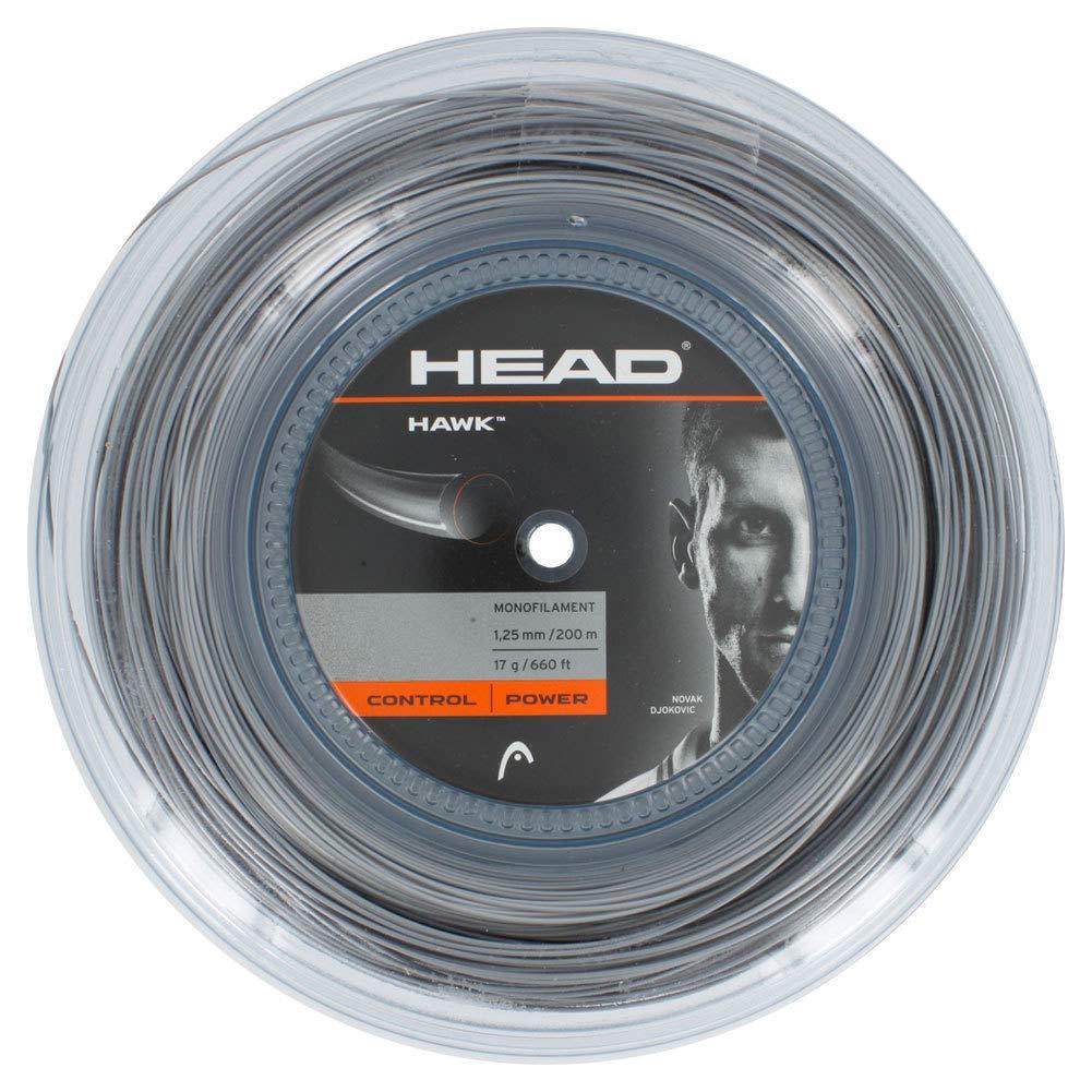 HEAD Hawk Tennis String Reel, 17g, Grey