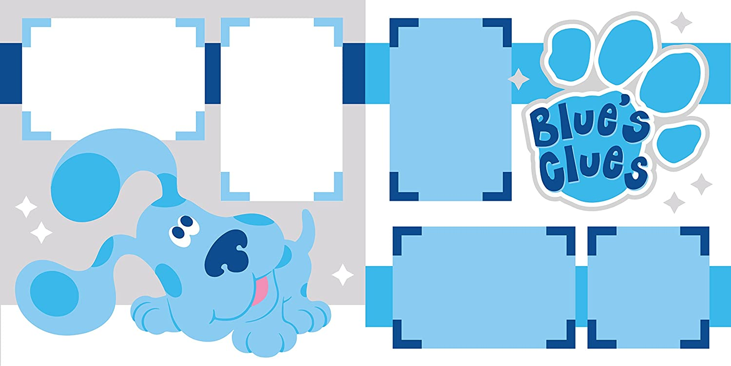 Blues Clues Scrapbook Page Kit