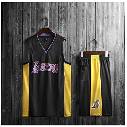 huge discount 690f0 68394 Men's Basketball Uniform, Lakers JaVale McGee Jersey Fabric ...