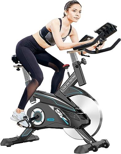 pooboo Exercise Bike Indoor Cycling Bike Stationary