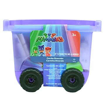 Pj Mask - Carrito Diversion, Color Morado (Cife 40817)