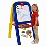 Crayola [5047-02], 3-in-1 Double Easel with Spacious Storage Tray and More !