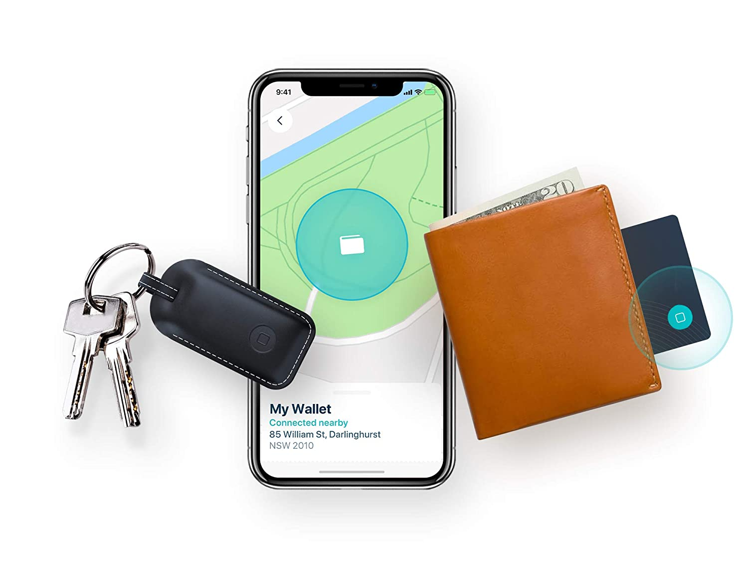 Phone and Wallet 1x Classic Bluetooth Lost Item Tracker Card Safedome Classic Combo Pack Free Companion App Item Finder with GPS-Like Bluetooth Tracking for Lost Keys 1x Smart Key Locator Fob