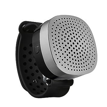 Mini Altavoz Bluetooth Portátil, ieGeek portátil Altavoz Bluetooth Reloj USB Carga con Bajo Mejorado, Micrófono con Cancelación de Ruido para IR de ...