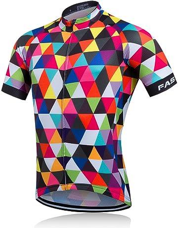 baf66317f Maillots de ciclismo para hombre | Amazon.es