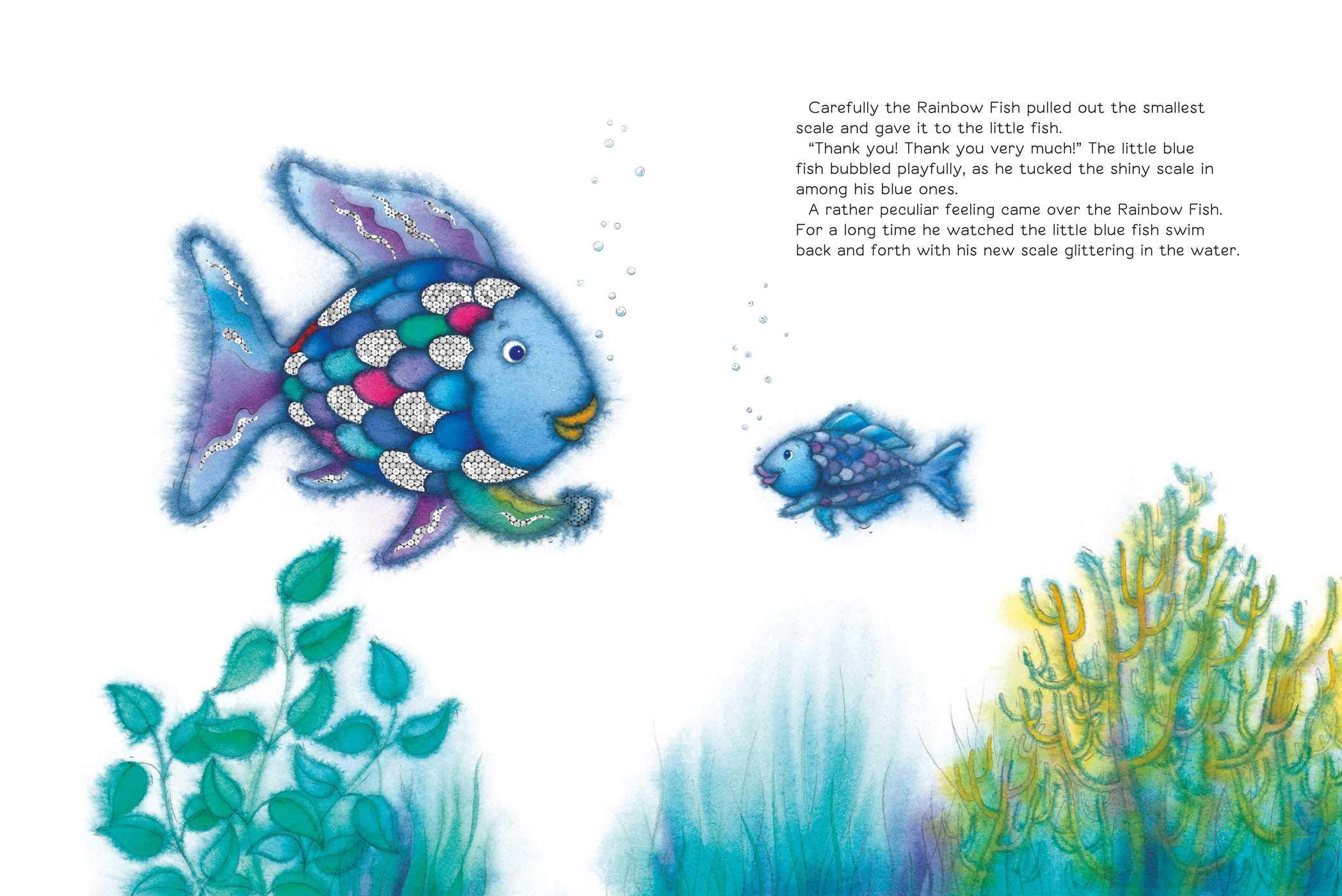 The Rainbow Fish: Marcus Pfister, J Alison James