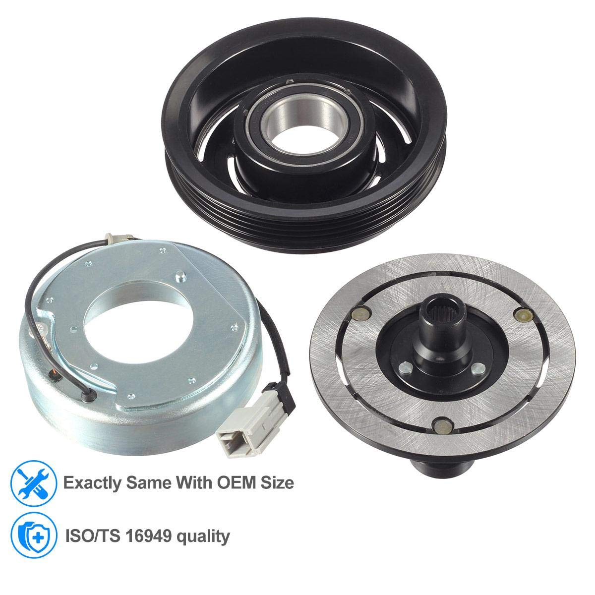 Ca a/c compresor Kit de montaje de embrague para Saab 9 - 2 x Subaru Impreza WRX: Amazon.es: Coche y moto